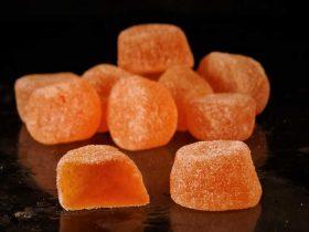 gel de fruit Mandarine