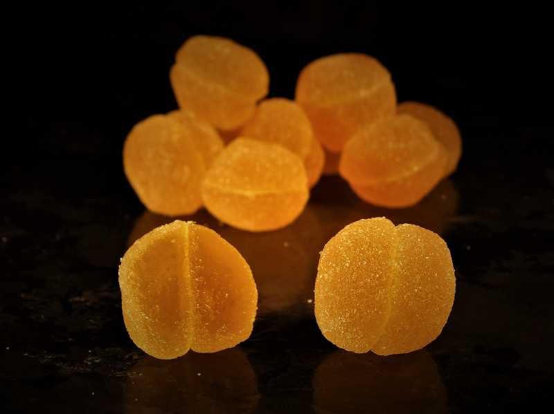 Gel de fruit Mirabelle - 2% d'alcool