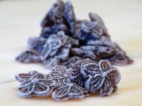 sucre cuit violette