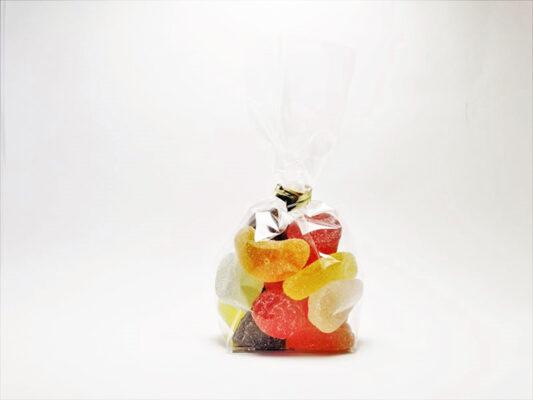 ballotin de gel de fruit